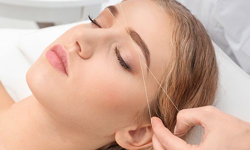 Threading in Chiswick With Chiswick Beautique